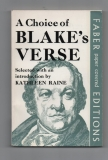A choice of Blake´s Verse - Kathleen Reine