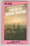 I dolori del Giovane Werther - J. Wolfgang Goethe (italsky)