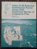 Atlas of 28 Selected Commercial Forest Areas With Unutilized Stands