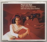 CD - Tell Me Why (The Riddle) - Paul van Dyk feat. Saint Etienne