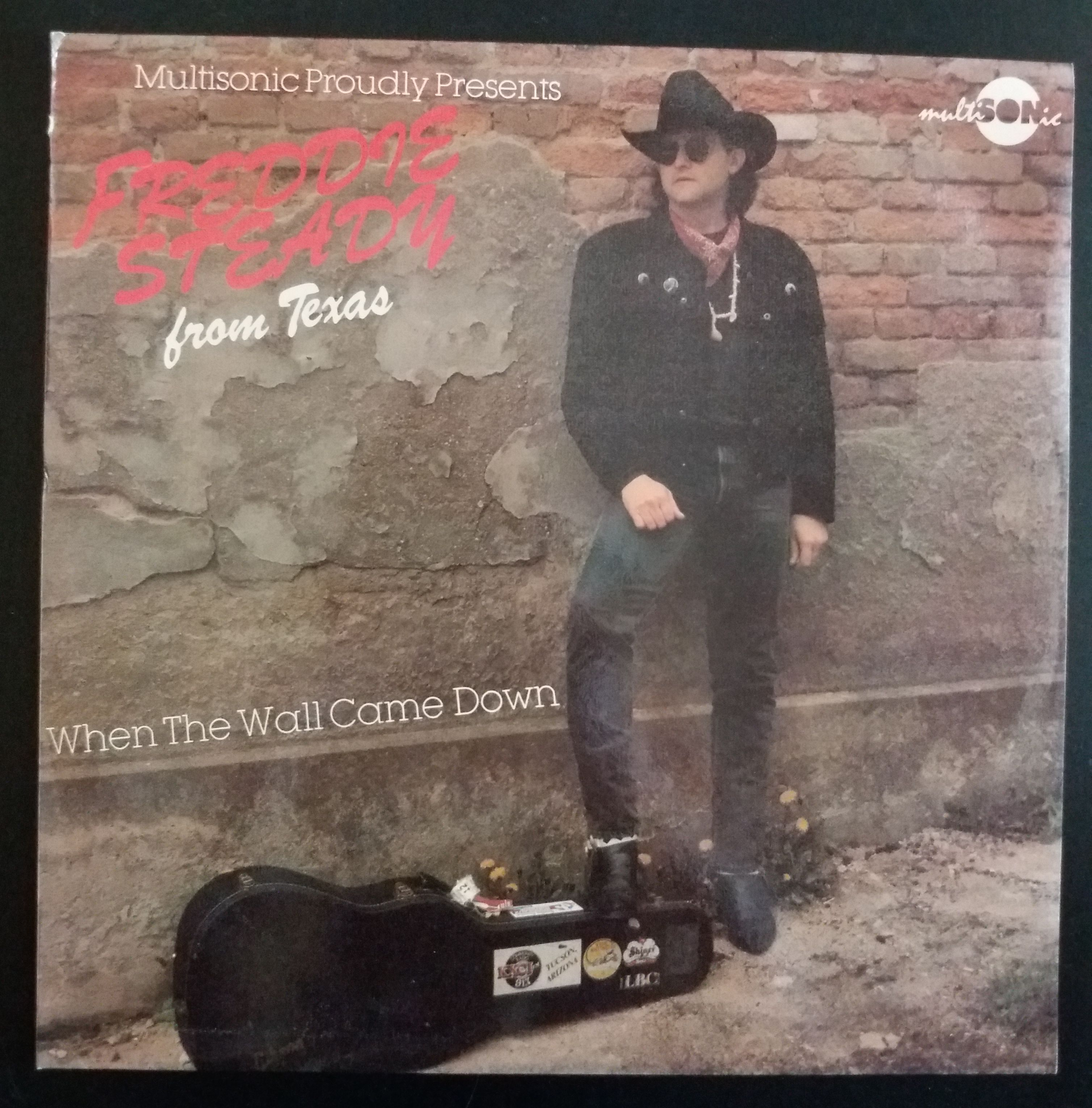 Freddie Steady from Texas - When The Wall Came Down (LP, gramodeska)