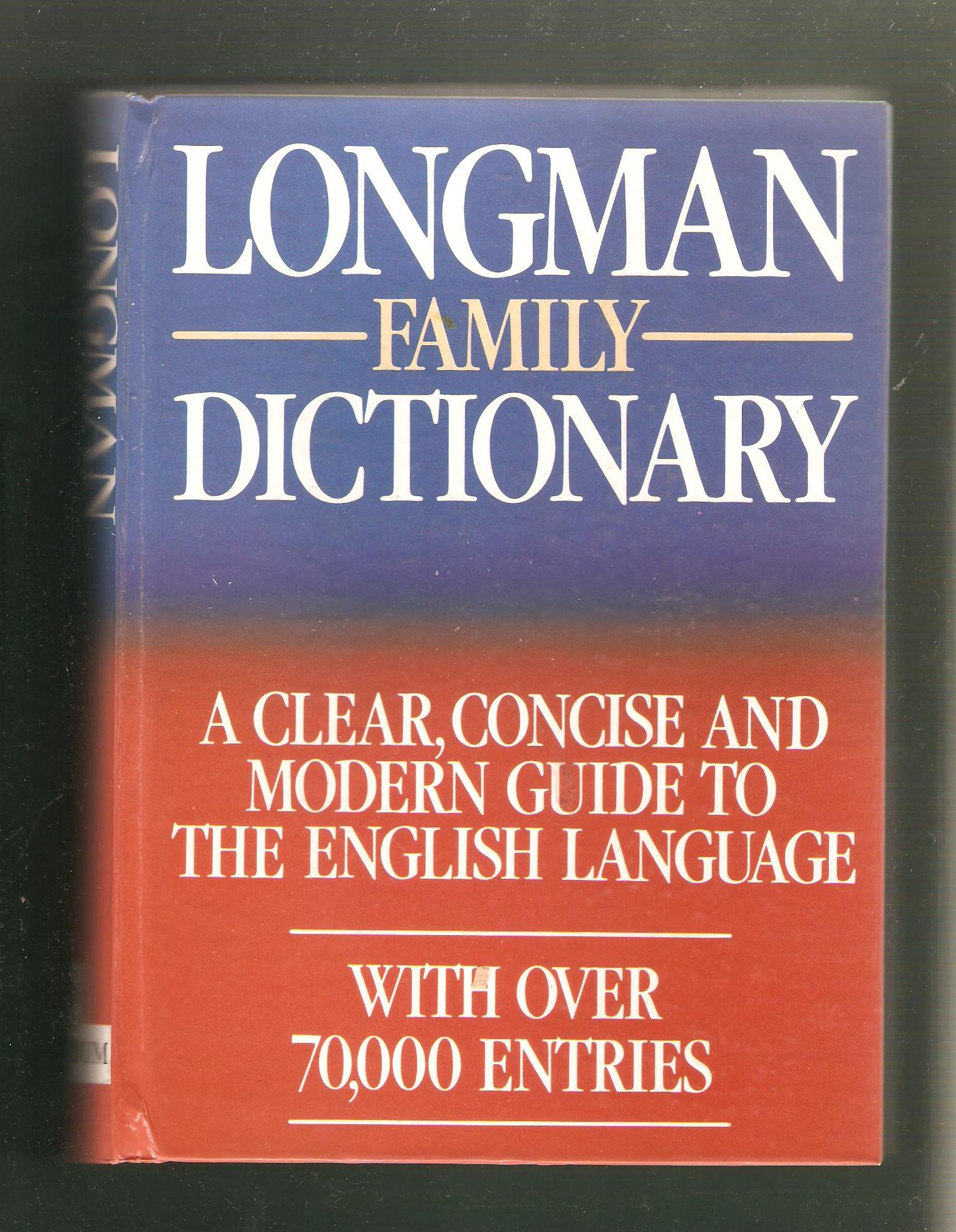 Longman Family Dictionary (anglicky)
