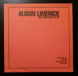 Alison Limerick - Put Your Faith in Me (LP, gramodeska)