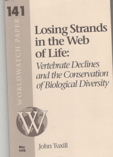 Losing Strands in the Web of Life: Vertebrate Declines and the Conservation of Biological Diversyty (anglicky)