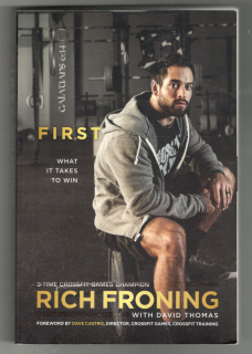 3-time crossfit games champion Rich Froning with David Thomas