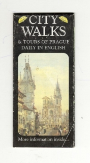 City walks & tours of Prague daily in english (mapa) (anglicky)