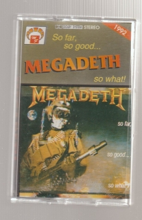 Megadeth - So far, so good, so what! (MC, kazeta)